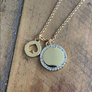 NWT Kate Spade ♠️ Spot the Spade Necklace